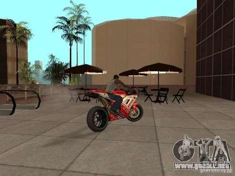 Ducati 1198R para GTA San Andreas left