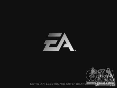 Cargando las pantallas en el estilo de NFS: Most para GTA San Andreas segunda pantalla
