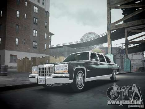 Cadillac Fleetwood 1985 para GTA 4 vista interior