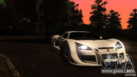 Gumpert Apollo para GTA San Andreas