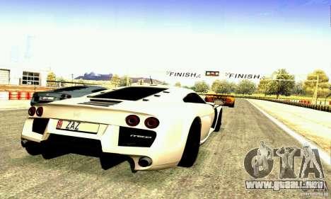 Noble M600 2010 V1.0 para el motor de GTA San Andreas