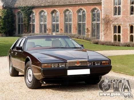 Aston Martin Lagonda (I) 5.3 (1976-1997) para GTA Vice City visión correcta