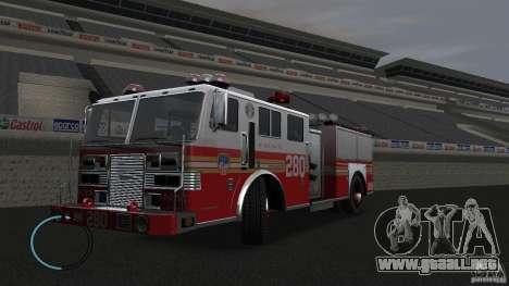 NEW Fire Truck para GTA 4