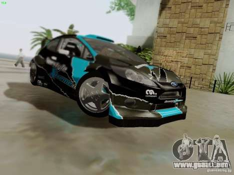 Ford Fiesta RS para vista inferior GTA San Andreas