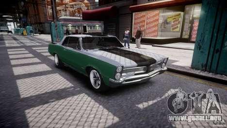 Pontiac GTO 1965 v3.0 para GTA 4 vista interior
