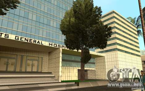 UGP Moscow New General Hospital para GTA San Andreas séptima pantalla