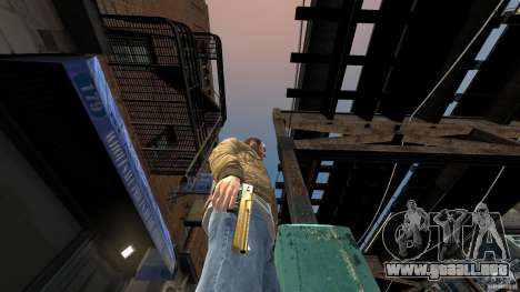 Gold Desert Eagle para GTA 4