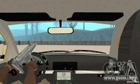 Volkswagen New Beetle GTi 1.8 Turbo para visión interna GTA San Andreas