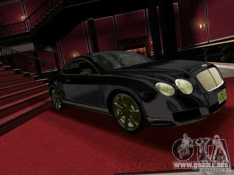 Bentley Continental GT para GTA Vice City vista lateral izquierdo