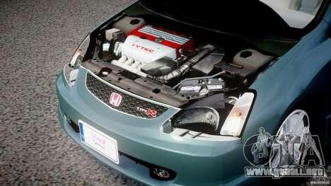 Honda Civic Type-R para GTA 4 vista hacia atrás