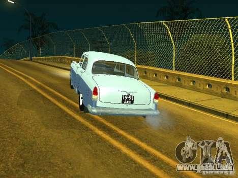 Volga GAZ 21 para GTA San Andreas left
