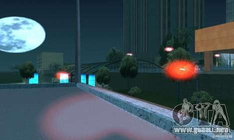 Luces rojas para GTA San Andreas quinta pantalla