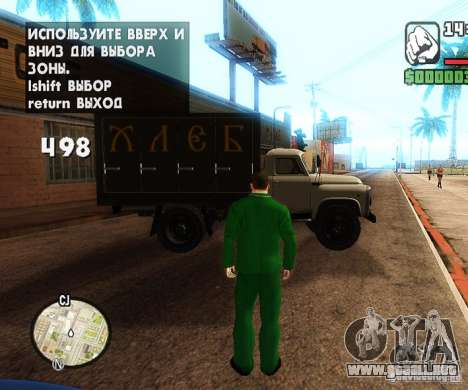 Сar coches de spawn-spawn para GTA San Andreas tercera pantalla