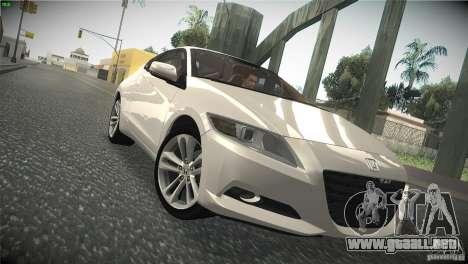 Honda CR-Z 2010 V1.0 para visión interna GTA San Andreas