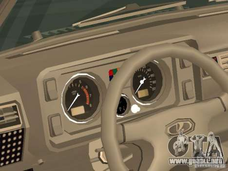 VAZ 2105 v. 2 para la visión correcta GTA San Andreas