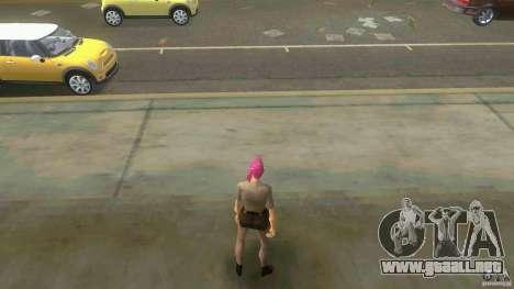 Girl Player mit 11skins para GTA Vice City décimo de pantalla