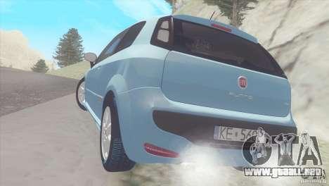 Fiat Punto para la visión correcta GTA San Andreas