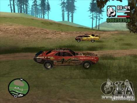 FlatOut bullet para la visión correcta GTA San Andreas