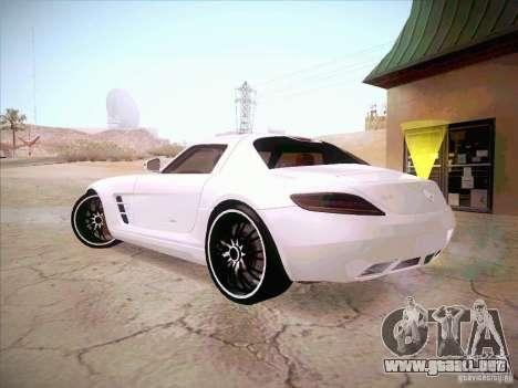 Mercedes-Benz SLS AMG 2010 Hamann Design para GTA San Andreas left