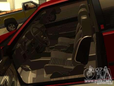 Toyota Celica Supra para vista lateral GTA San Andreas
