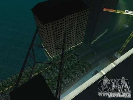 Nueva ciudad v1 para GTA San Andreas séptima pantalla