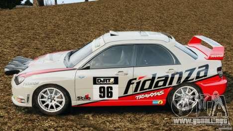 Subaru Impreza WRX STI N12 para GTA 4 left