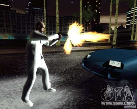 Traje blanco para GTA San Andreas tercera pantalla