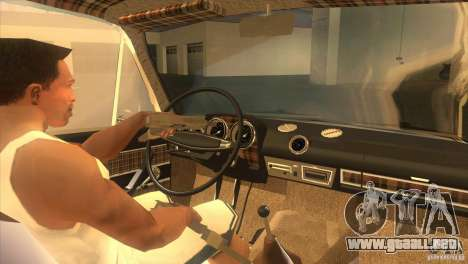 VAZ 2103 Resto para visión interna GTA San Andreas