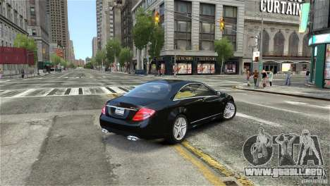 Mercedes-Benz CL65 AMG v1.5 para GTA 4 left