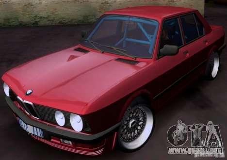 BMW 5-er E28 para GTA San Andreas