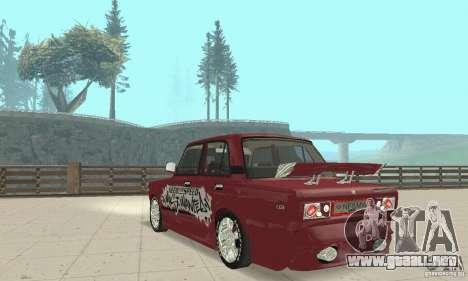 VAZ 2107 Ex Tuning para GTA San Andreas left