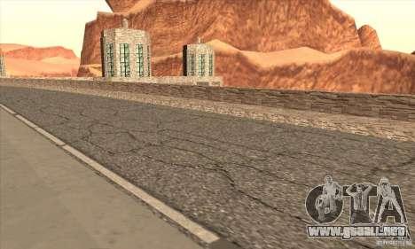 La nueva presa para GTA San Andreas séptima pantalla
