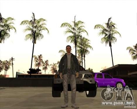 La piel es un miembro de la mafia para GTA San Andreas segunda pantalla