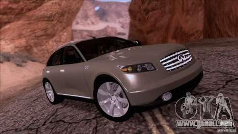 Infiniti FX45 2007 para GTA San Andreas