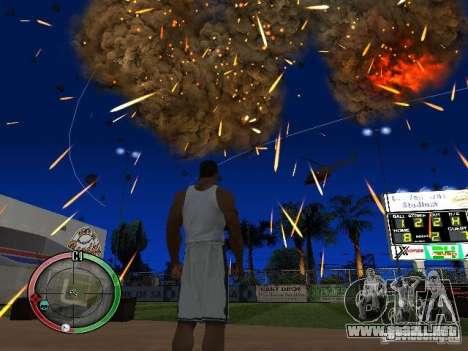 RAIN OF BOXES para GTA San Andreas quinta pantalla