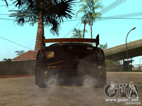 Skoda Octavia II Tuning para GTA San Andreas vista posterior izquierda