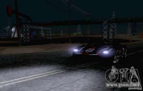 Ferrari F458 para vista lateral GTA San Andreas