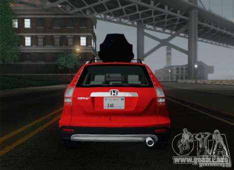 Honda CRV 2011 para vista inferior GTA San Andreas