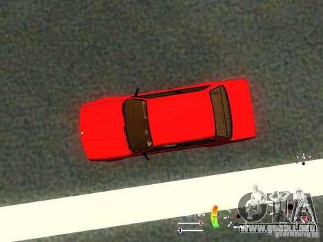 BMW E30 87-91 para vista lateral GTA San Andreas