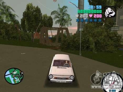 ZAZ 968 para GTA Vice City visión correcta