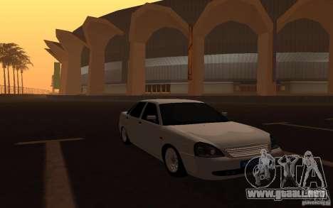 Lada Priora Light Tuning para la visión correcta GTA San Andreas