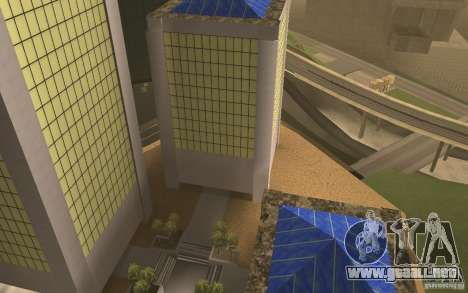 Rascacielos en San Fierro para GTA San Andreas sexta pantalla