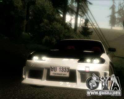 Nissan Silvia para la vista superior GTA San Andreas