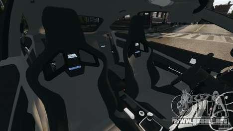 Ford Focus RS para GTA 4 vista interior
