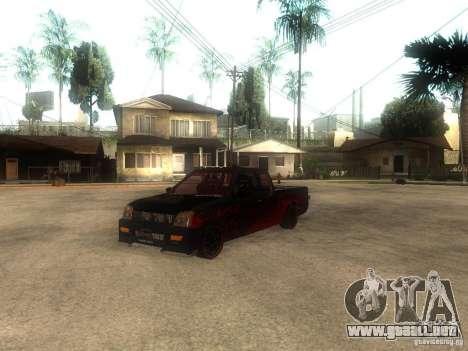 Isuzu D-Max para GTA San Andreas