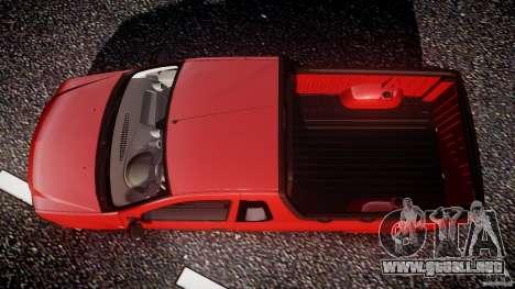 Dacia Logan Pick-up ELIA tuned para GTA 4 visión correcta