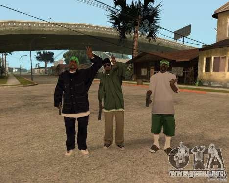 Grove de Ballasy para GTA San Andreas segunda pantalla