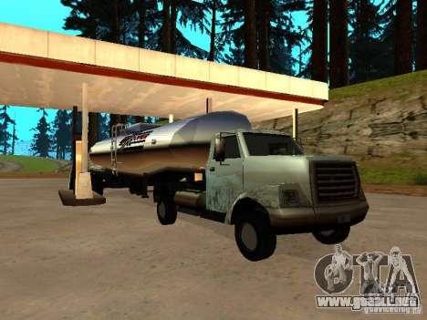 Yankee Truck para GTA San Andreas vista hacia atrás