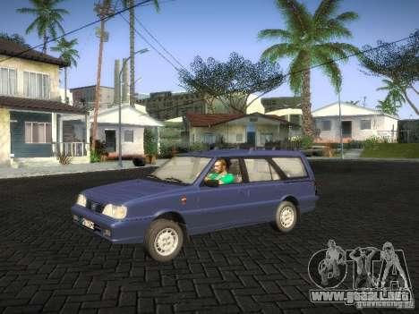 Daewoo FSO Polonez Kombi 1.6 2000 para GTA San Andreas vista posterior izquierda