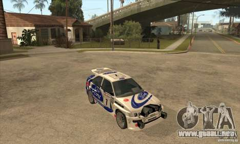 Ford Escort RS Cosworth para el motor de GTA San Andreas
